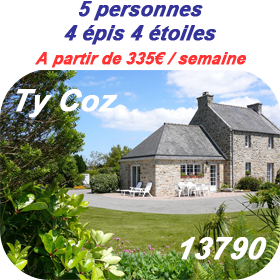 Description du gite Ty Coz 13790